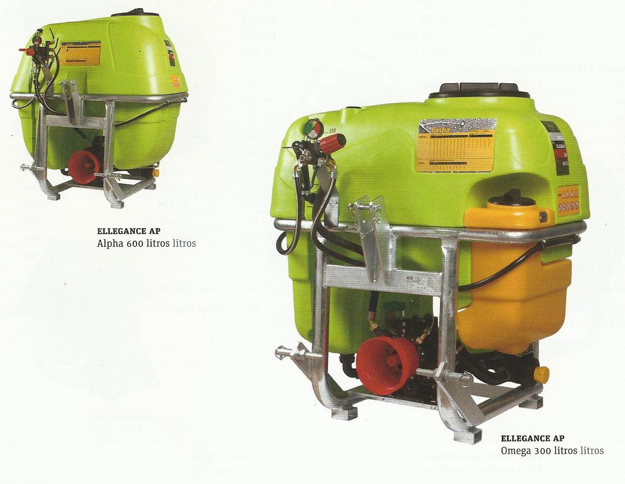 Pulverizador serie AP