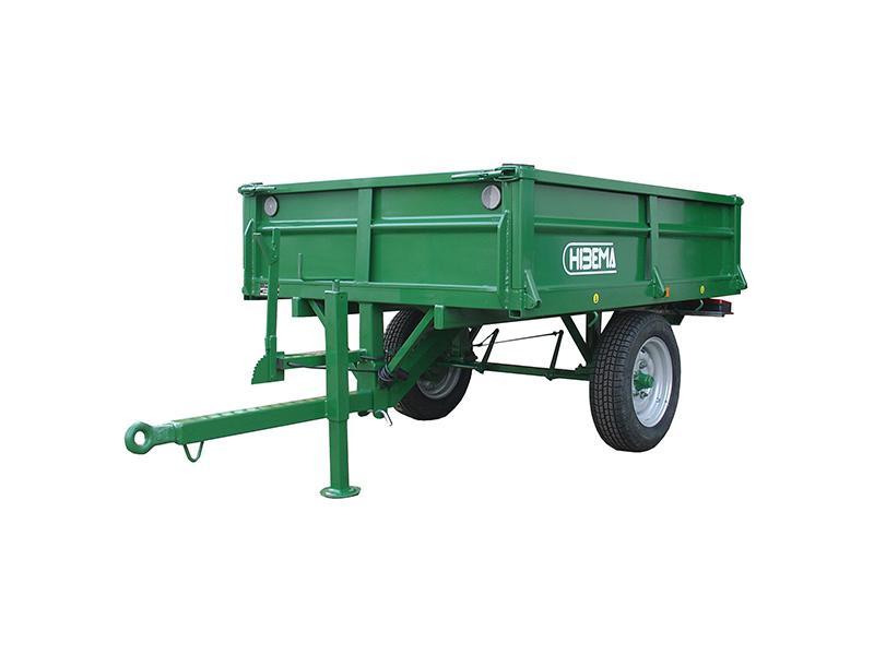 Remolques de tractor (basculante y freno mecánico) - 0