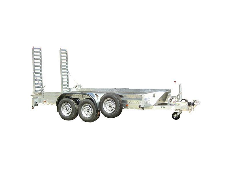 Remolques porta-maquinas dos ejes (ruedas fuera de la caja) - 0