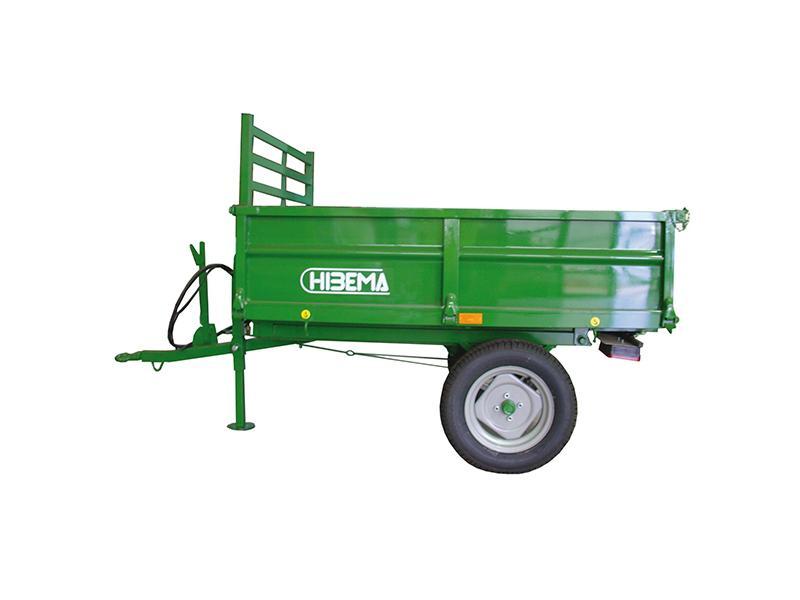 Remolques de tractor (basculante y freno mecánico) - 1